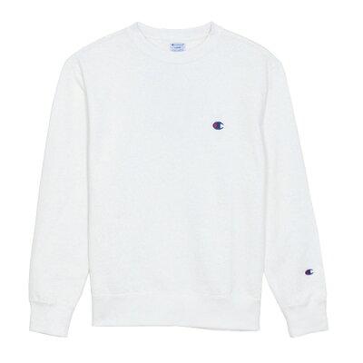 チャンピオン Champion メンズ クルーネック スウェットシャツ ベーシック CREW NECK SWEATSHIRT ホワイト C3-C019