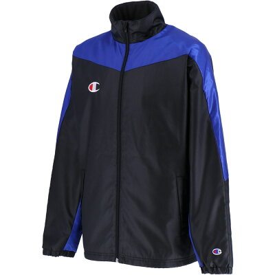 ウインドブレーカージャケット サイズ:L カラー:ブラック×ブルー#C3NSC20-8KB