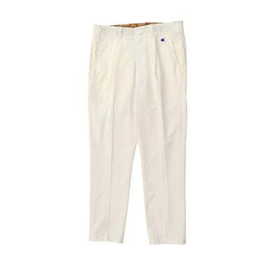 チャンピオン  ゴルフ Champion  メンズ パンツ ロングパンツ ワンタックパンツ 9分丈 撥水 ストレッチ ワンロゴ  ウェア