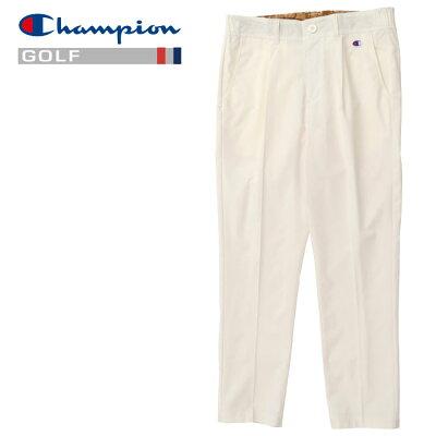 チャンピオンゴルフ Champion GOLF 1タック リップストップ ストレッチドライテーパードロングパンツ