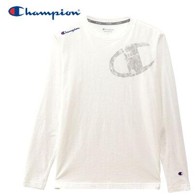 Champion ユニセックス LONG SLEEVE T-SHIRT C3-QS403