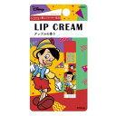 ピノキオ リップクリーム コスメ雑貨 アップルの香り ディズニー 粧美堂 化粧雑貨