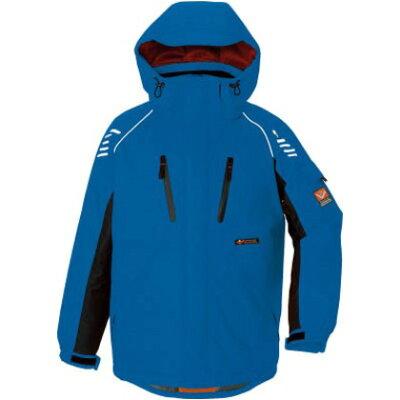 防寒ジャケット ブルー az6063-006-  作業着 トップス