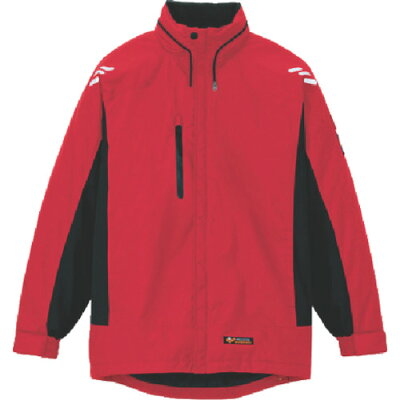 アイトス AITOZ 大きいサイズ 3L 防寒ジャケット 009/レッド 3L AZ-6169