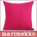 ルック marimekko ( マリメッコ ) PIRPUT PARPUT ( ピルプト パルプト ) キャンバス地 クッションカバー 50cm×50cm クッション中綿なし / レッド・ピンク.