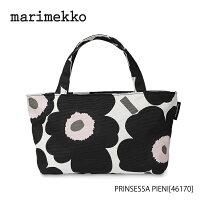 marimekko Pieni Unikko PRINSESSA トートバッグ/83988ブラック×ベージュ45499マリメッコ ピエニウニッコ dp05