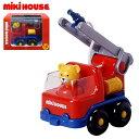 知育玩具 mikiHOUSE ミキハウス 消防車 16-1510-365