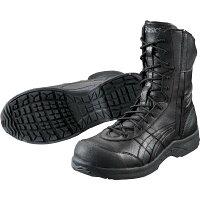 FIS500.9090-22.5 アシックス 作業用靴 ウィンジョブ 22.5cm ブラックXブラック プロテクティブスニーカー JSAA A種認定 FIS5009090225