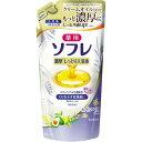 薬用ソフレ 濃厚しっとり入浴液 ホワイトフローラルの香り つめかえ用(400ml)