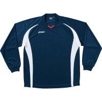 アシックス(asics)ゲームシャツ長袖【商品コード】XS1129【色コード】50【サイズ】S
