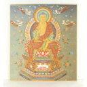 仏画色紙 釈迦如来 84025