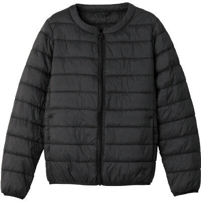 ケアファッション:ファイバーダウンジャケット ブラック LL 婦人用 89135-23