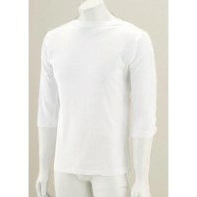 ファミリー・ジョイ 男女兼用片側脇開き7分袖シャツ 38239 02・ホワイト・L 1258587