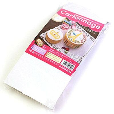 日本紐釦貿易 CTN47 Cartonnageカルトナージュ  れ子式ラウンドボックス レシピ付き 88 / CTN47
