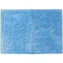 乾度良好 サニー バスマット ブルー 約50*70cm(1枚入)