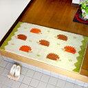 オカ 日本製 ウィルトン織り 抗菌 防臭  プレミアム ウィルトン エリソン ホームマット 約60×110cm ベージュ