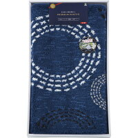 ウィルトン織 洗える玄関マット  110×60cm   ブルー   75843