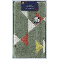 日本製ウィルトン織 洗える玄関マット 110×60cm グリーン
