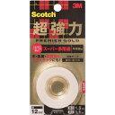 3M スコッチ 超強力両面テープ プレミアゴールド スーパー多用途 12mm KPS-12(1コ入)