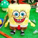 スポンジボブ ぬいぐるみパスケース ぬいぐるみ SpongeBob