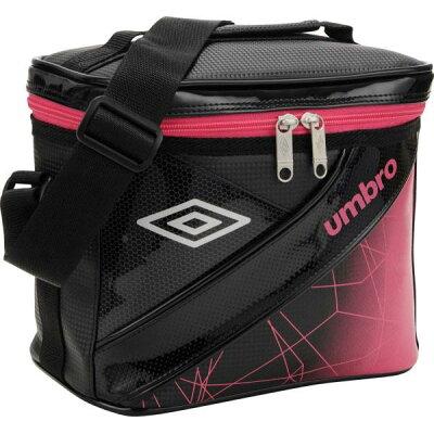 アンブロ umbro UJS1722 EQ ラバスポクーラーバッグ ブラック×ピンク