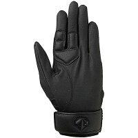 DESCENTE/デサント C322L-BLK フィールディンググラブ 指パッド付守備用グラブ 右投げ用/左手用 ブラック