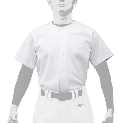 GACHIユニフォームシャツ/オープンタイプユニセックスミズノ野球 ウエア ユニフォームシャツ12JC9F60*25