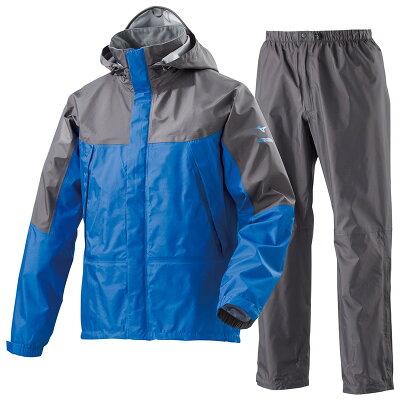 mizuno/ミズノ A2MG8A01-25 ベルグテックEXストームセイバ-レインスーツ ブルー