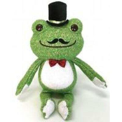 pickles the frog petitピクルス ぬいぐるみ 村長 ナカジマコーポレーション