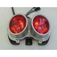 Odax:LEDクリアテールライト(スモーク)