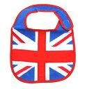 ユニオンジャック/UK FLAG パイル地ベビービブ かわいいグッズ(よだれかけ/スタイ)