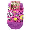 ベビーアンクルソックス 新生児靴下 FLOWER SMILE フラワースマイル 10~15cm