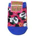 パンダ スター 赤ちゃん 靴下 ベビーアンクル ソックス オクタニコーポレーション 10-13cm かわいい BABYグッズ