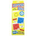 ZIPPER BAG フリーザーバッグ ジップバッグ/SMILE COLOR
