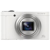 SONY コンパクトデジタルカメラ Cyber-Shot WX DSC-WX500(W)