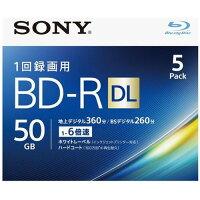 ソニー 録画用BD-R 2層 5BNR2VJPS6(5枚入)