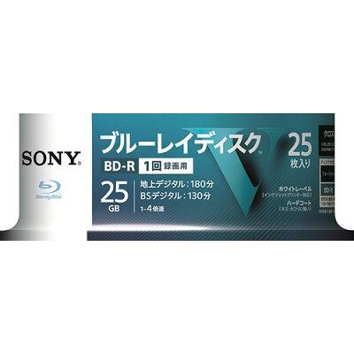 ソニー ブルーレイR4倍速1層 Vシリーズ 25BNR1VLPS4(25枚入)