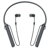 ソニー ワイヤレスステレオヘッドセット WI-C400 ブラック(1コ入)