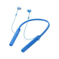 ソニー ワイヤレスステレオヘッドセット WI-C400 ブルー(1コ入)