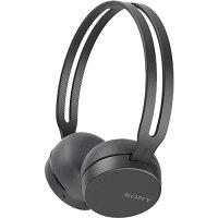 ソニー ワイヤレスステレオヘッドセット WH-CH400 ブラック(1コ入)