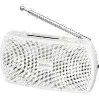 ソニー ステレオポータブルラジオ SRF-19 ホワイト(1台)