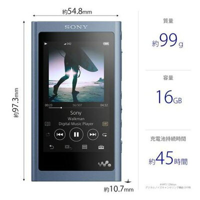 SONY  ウォークマン Aシリーズ NW-A55(L)
