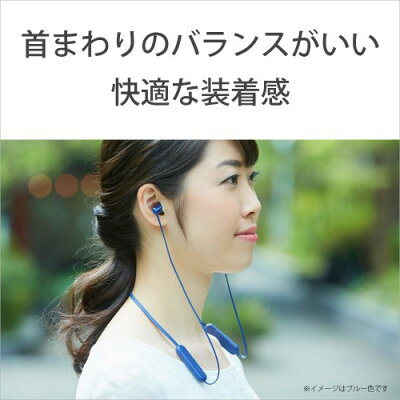 SONY ワイヤレス イヤホン WI-C310(W)