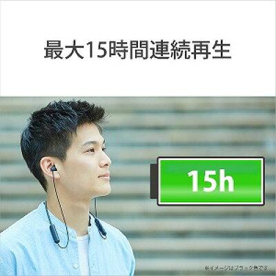 ソニー ソニー ワイヤレスステレオヘッドセット WI-C200/ホワイト