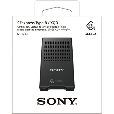 SONY CFexpress Type B / XQDカードリーダー MRW-G1