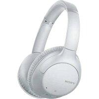 SONY ワイヤレス ノイズキャンセリング ステレオヘッドセット ホワイト WH-CH710N(W)