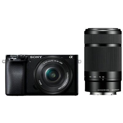 ソニー ミラーレス一眼カメラ  ILCE-6100 ILCE-6100Y(B)
