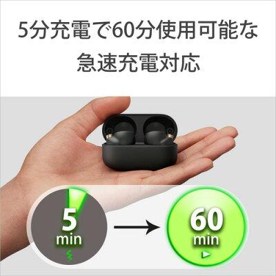 SONY フルワイヤレスイヤホン WF-1000XM4 ブラック