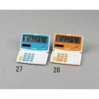 8桁 手帳型計算機 EA761G-27
