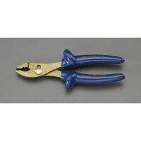 ESCO 200mm コンビネーションプライヤー(絶縁・防爆) EA642ZA-1 (I040107
